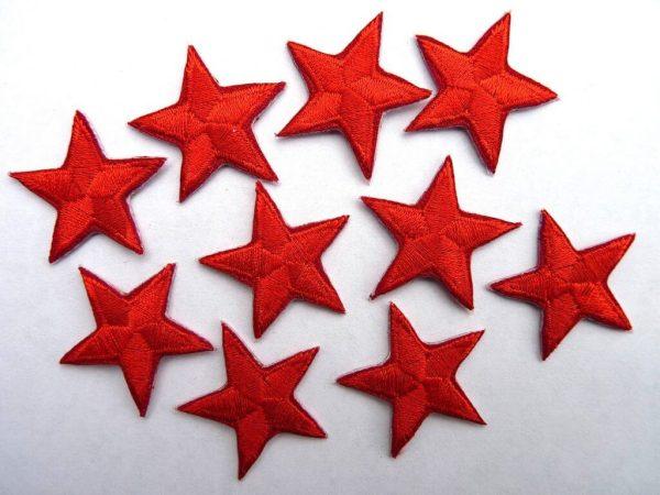 Red stars